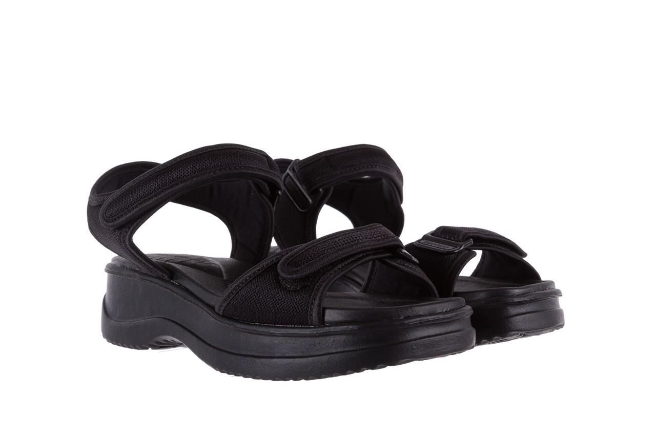 Sandały azaleia 320 321 black 18, czarny, materiał - azaleia - nasze marki 8