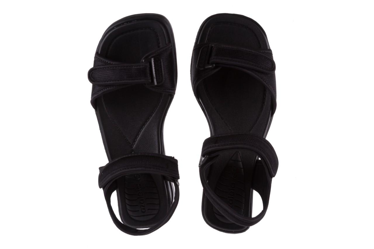 Sandały azaleia 320 321 black 18, czarny, materiał - azaleia - nasze marki 11