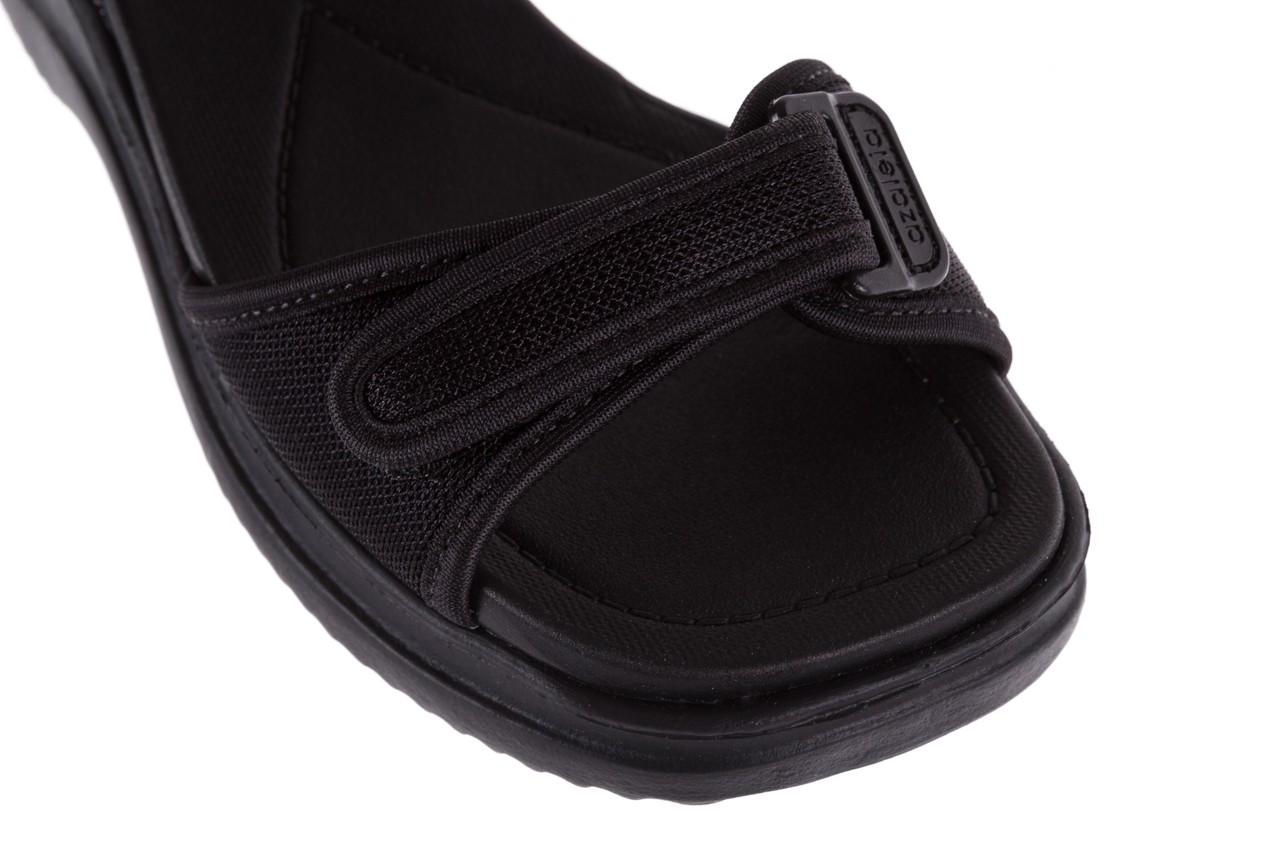 Sandały azaleia 320 321 black 18, czarny, materiał - azaleia - nasze marki 12