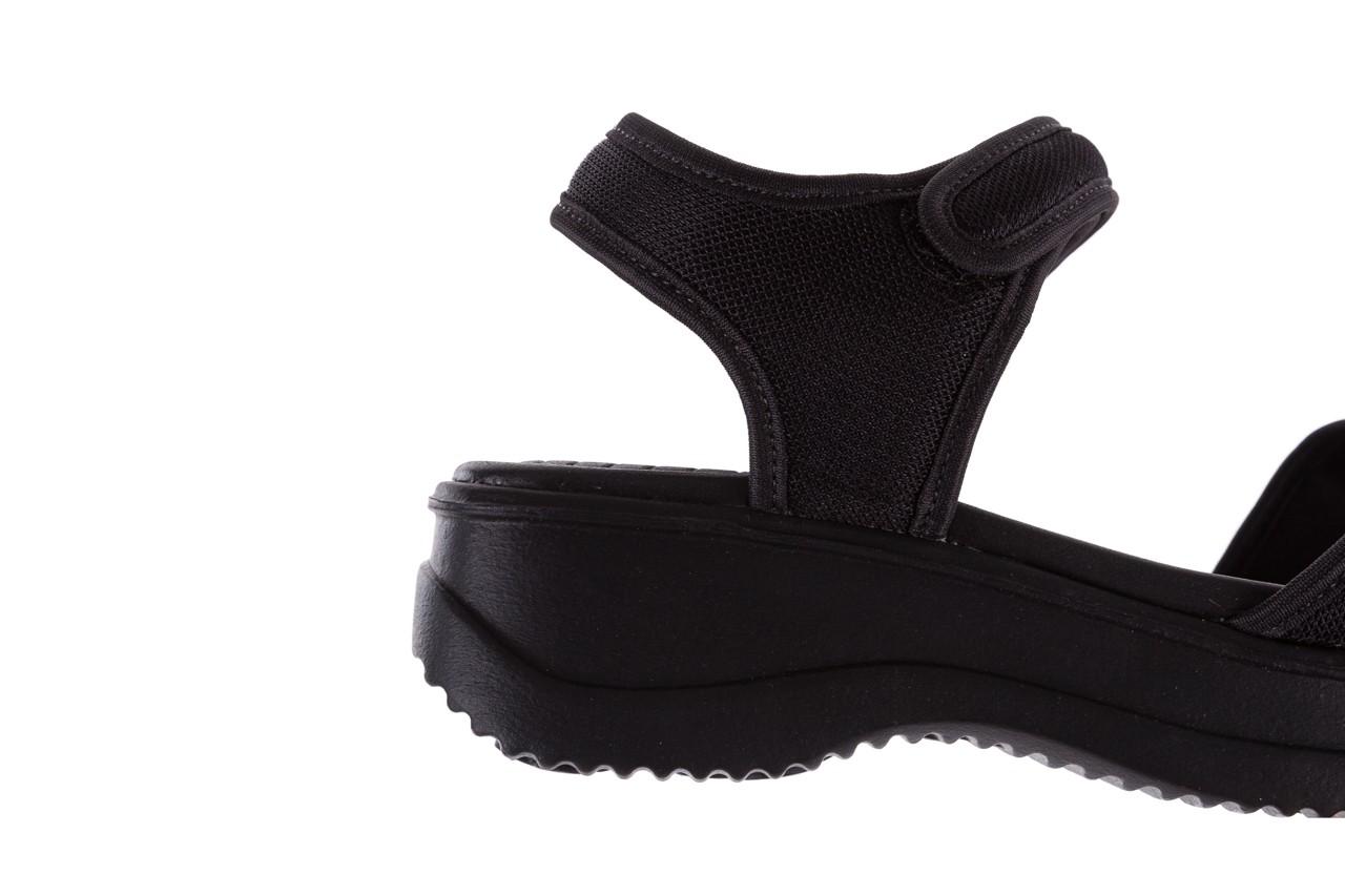 Sandały azaleia 320 321 black 18, czarny, materiał - azaleia - nasze marki 13