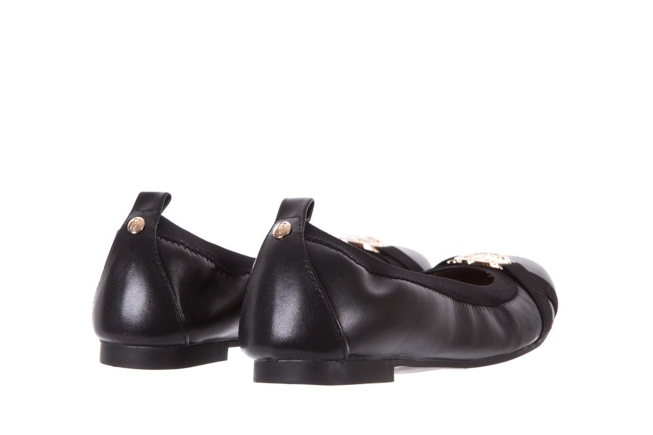 Baleriny bayla-018 07133-x11 black, czarny, skóra naturalna  - bayla - nasze marki 9
