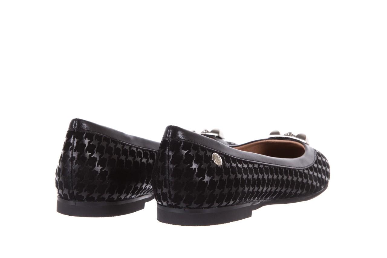 Baleriny bayla-018 1063-x45 black, czarny, skóra naturalna - bayla - nasze marki 9