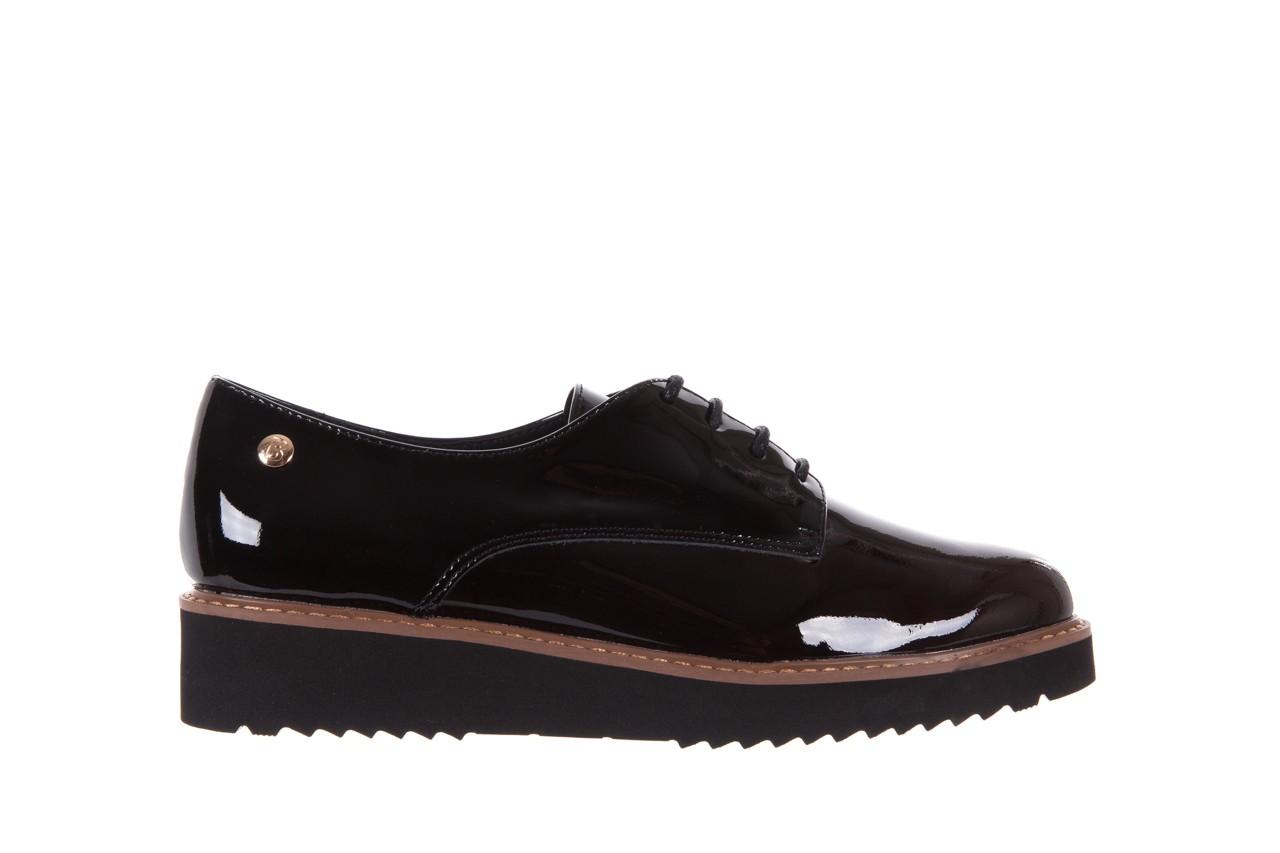 Półbuty bayla-018 1133-x57 burgundy black, bordo/czarny, skóra naturalna lakierowana  - bayla - nasze marki 7