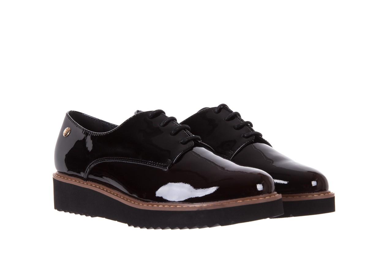 Półbuty bayla-018 1133-x57 burgundy black, bordo/czarny, skóra naturalna lakierowana  - bayla - nasze marki 8