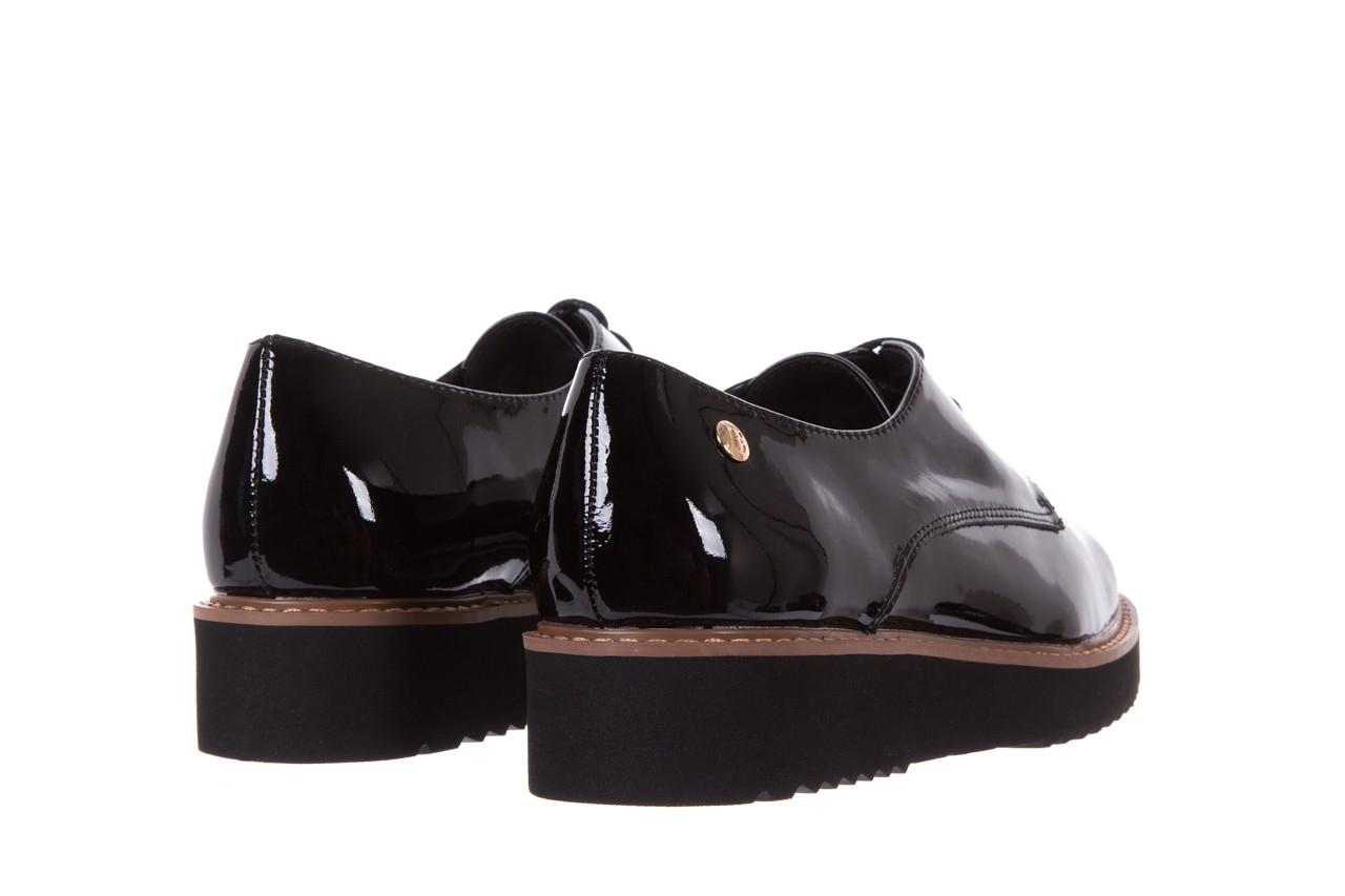Półbuty bayla-018 1133-x57 burgundy black, bordo/czarny, skóra naturalna lakierowana  - bayla - nasze marki 10