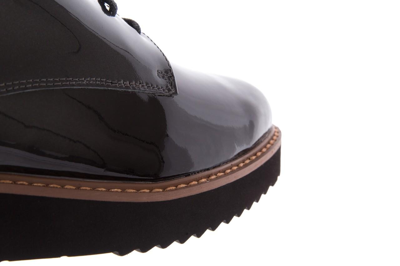 Półbuty bayla-018 1133-x57 grey black, szary/czarny, skóra naturalna lakierowana - bayla - nasze marki 13