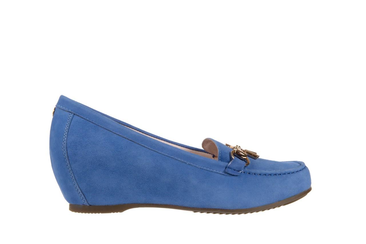 Mokasyny bayla-018 1647-12 royal blue, niebieski, skóra naturalna - bayla - nasze marki 6