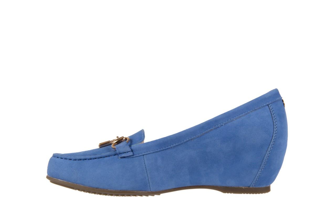 Mokasyny bayla-018 1647-12 royal blue, niebieski, skóra naturalna - bayla - nasze marki 8