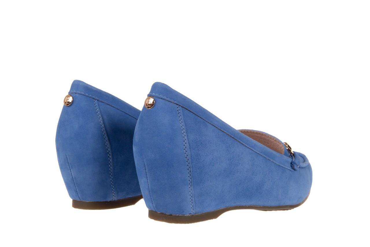 Mokasyny bayla-018 1647-12 royal blue, niebieski, skóra naturalna - bayla - nasze marki 9