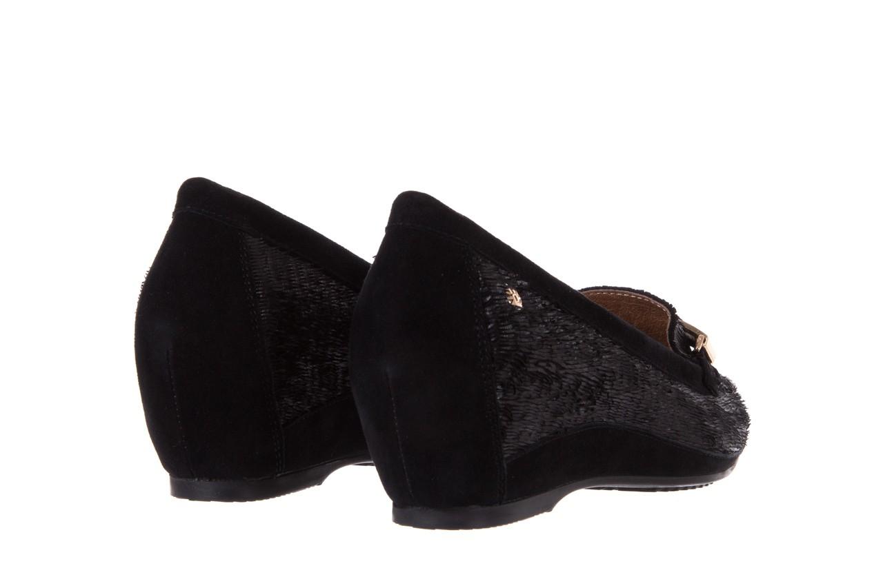 Mokasyny bayla-018 1647-23 black, czarny, skóra naturalna 9