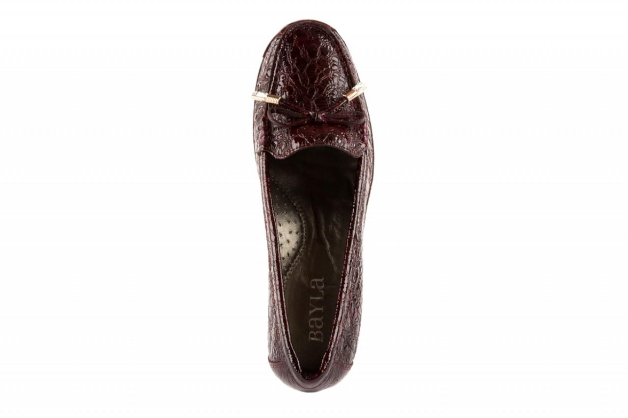 Bayla-018 1647-7 burgundy winkles stone - bayla - nasze marki 10
