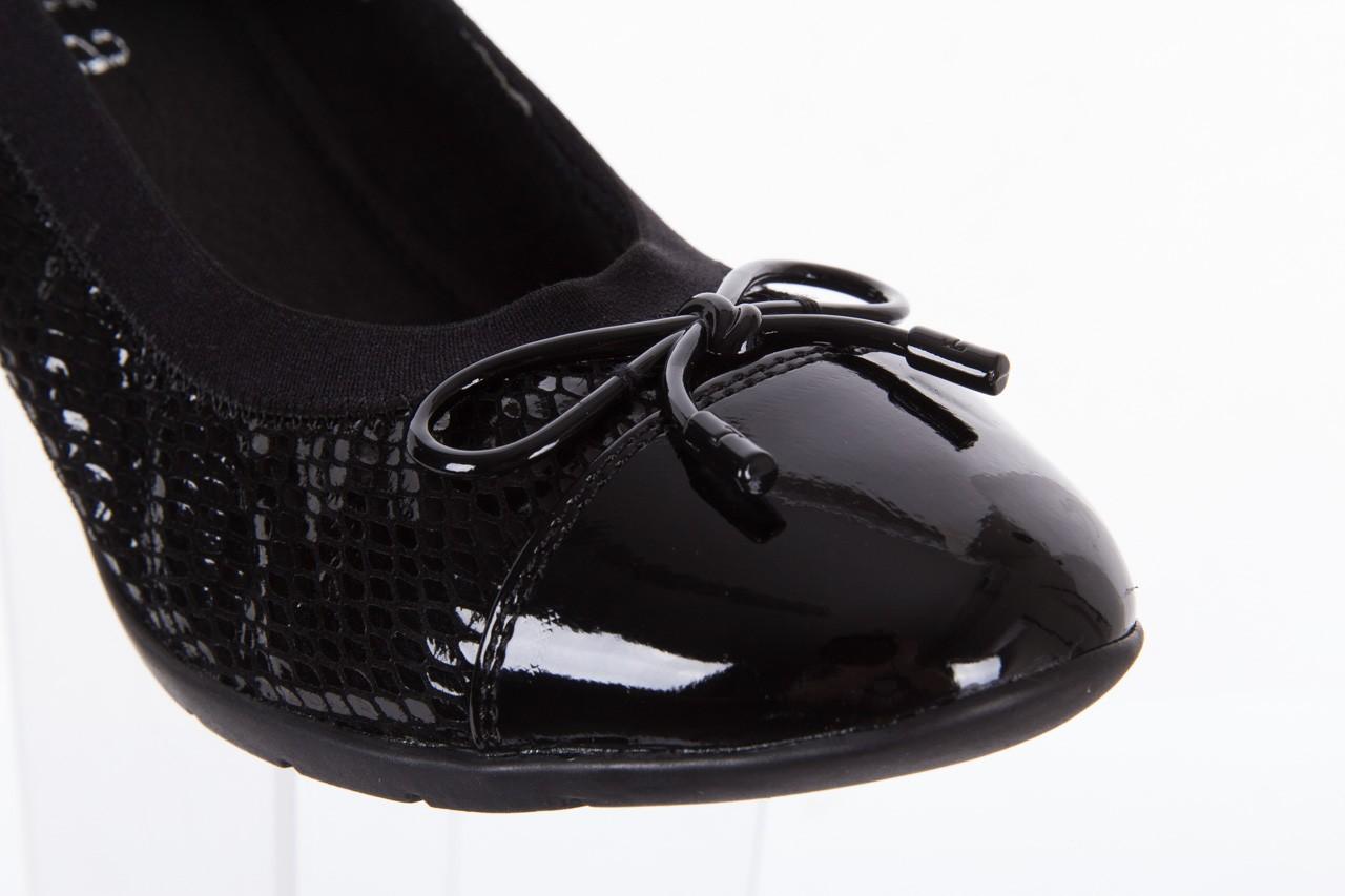 Baleriny bayla-018 1759-3 black, czarny, skóra naturalna - bayla - nasze marki 11
