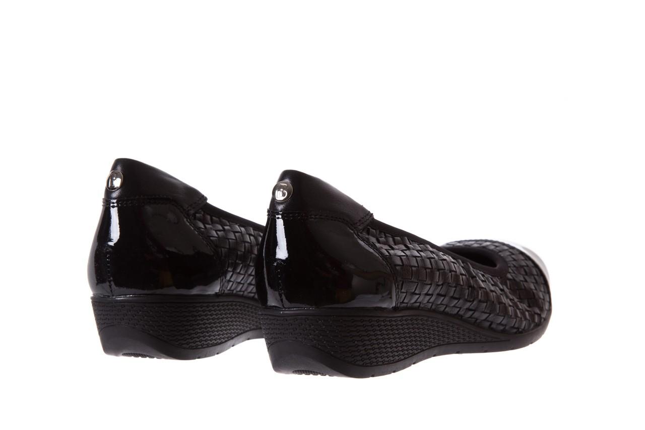Baleriny bayla-018 1759-5 black, czarny, skóra naturalna - bayla - nasze marki 9