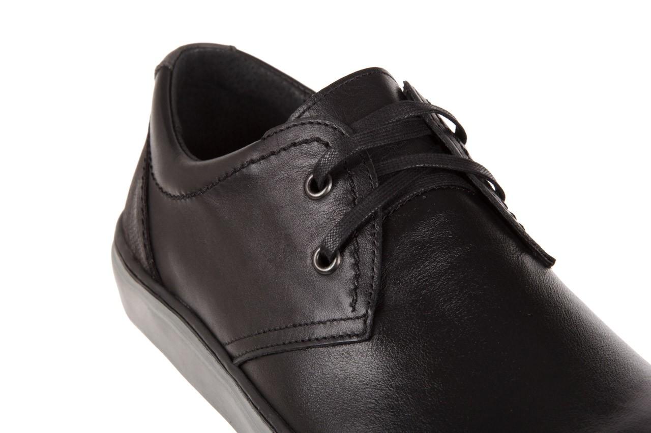 Półbuty bayla-051 213 lira czarna sat.czarna, skóra naturalna  - bayla - nasze marki 11