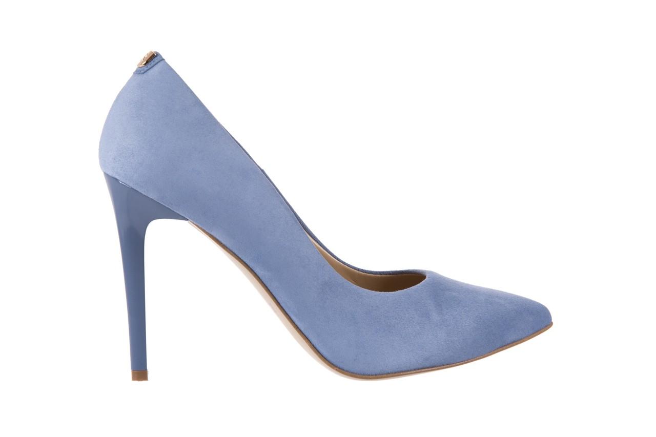 Szpilki bayla-056 1810-605 niebieski, skóra naturalna - 10% - halloween do -30% 7
