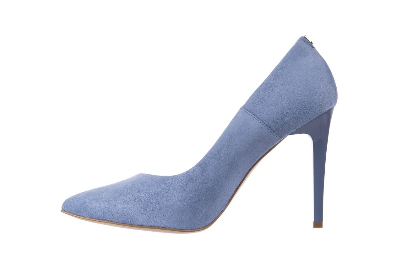 Szpilki bayla-056 1810-605 niebieski, skóra naturalna - 10% - halloween do -30% 9