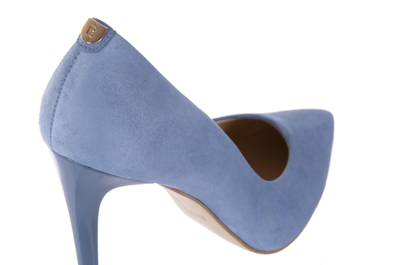 Szpilki bayla-056 1810-605 niebieski, skóra naturalna - 10% - halloween do -30% 12