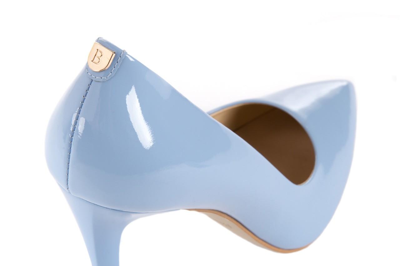Szpilki bayla-056 1810-751 niebieski, skóra naturalna lakierowana - 10% - halloween do -30% 12