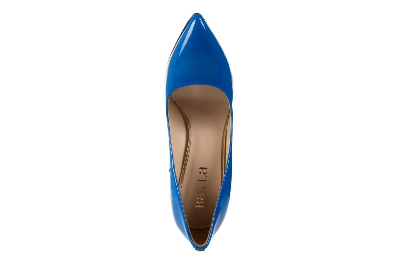 Szpilki bayla-056 1810-753 niebieski, skóra naturalna lakierowana - 10% - halloween do -30% 11