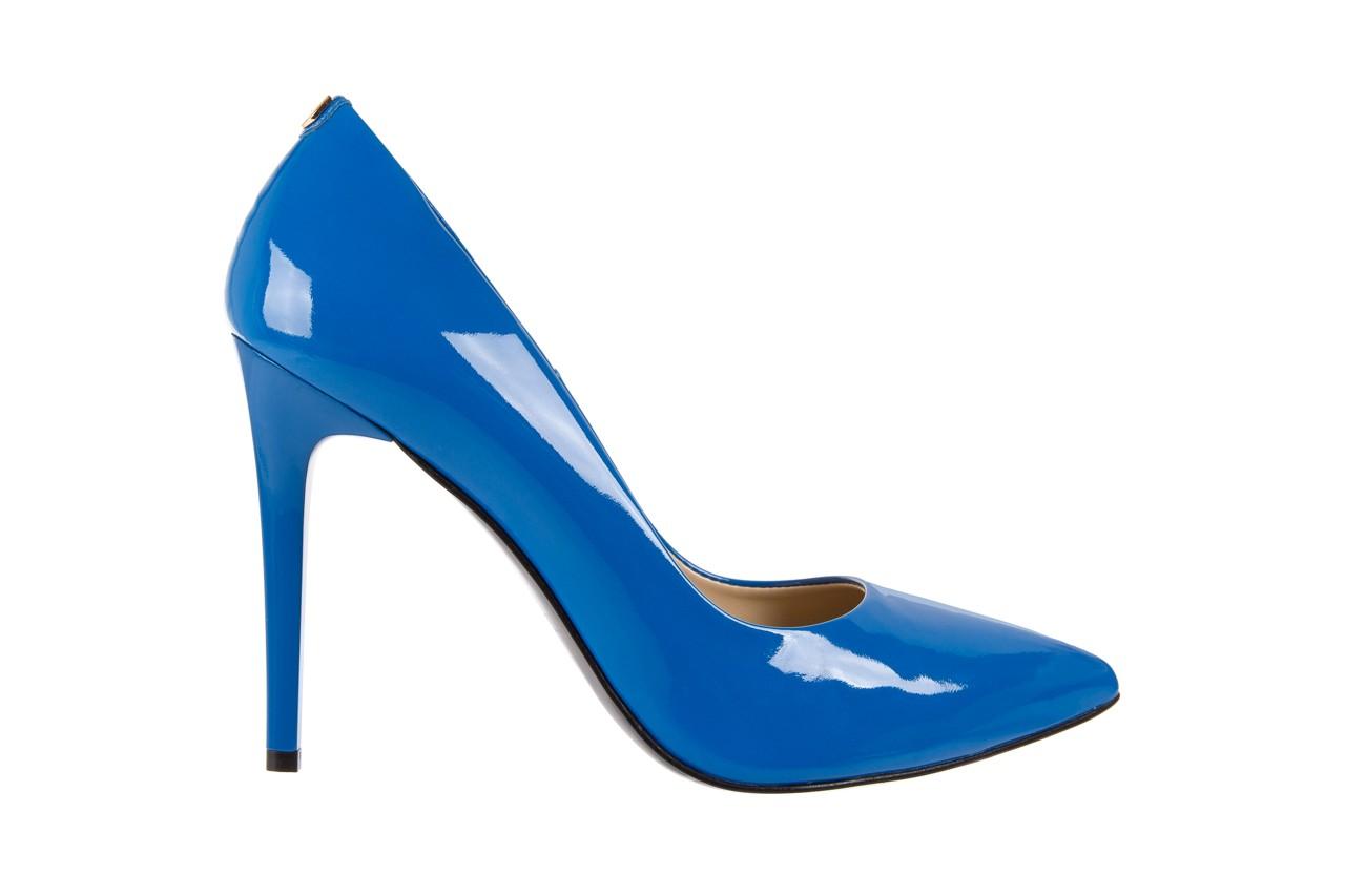 Szpilki bayla-056 1810-753 niebieski, skóra naturalna lakierowana - 10% - halloween do -30% 7