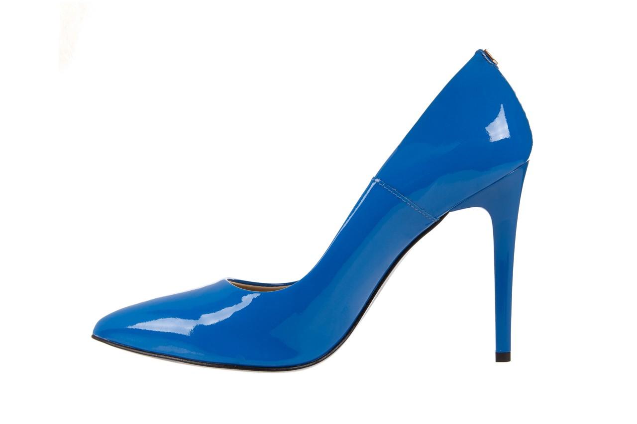 Szpilki bayla-056 1810-753 niebieski, skóra naturalna lakierowana - 10% - halloween do -30% 9