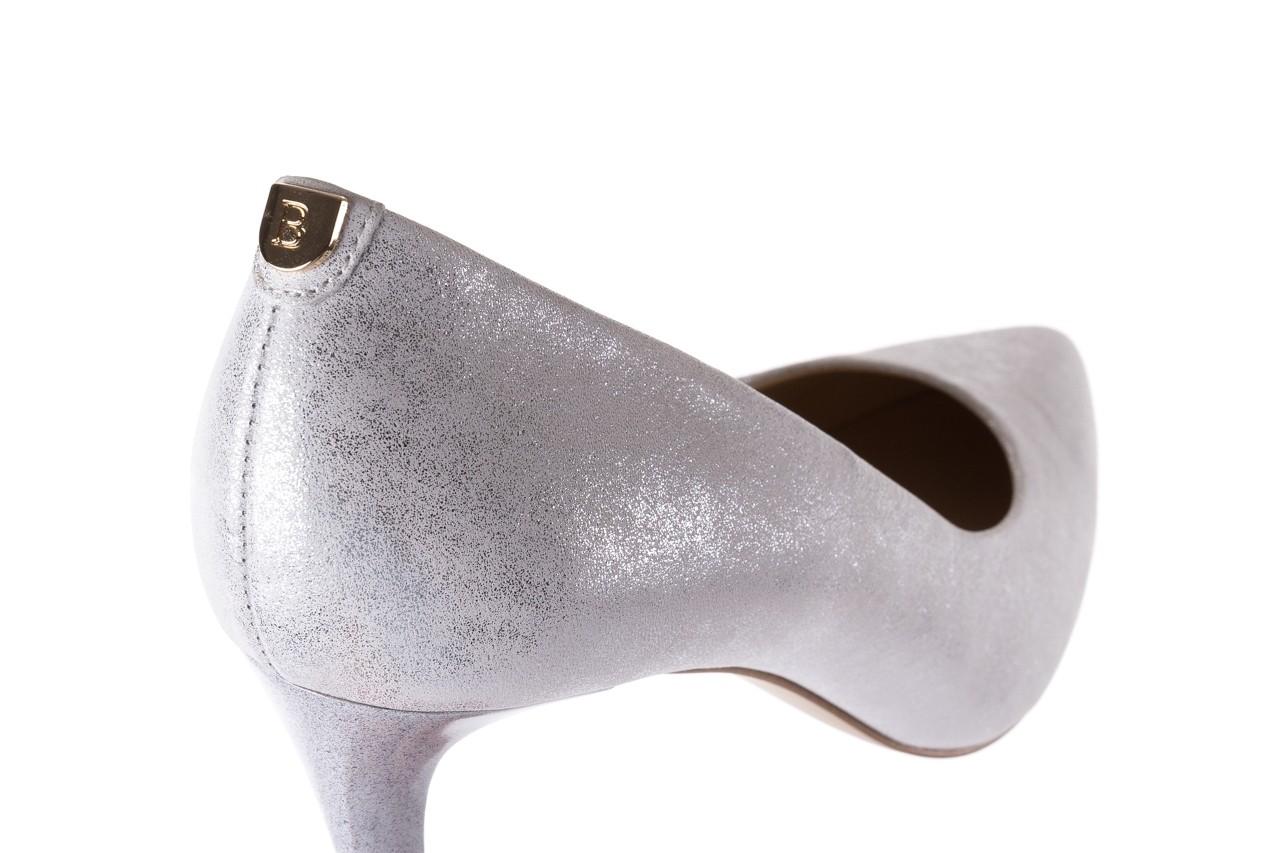 Czółenka bayla-056 1816-1089 srebrny metaliczny 20, skóra naturalna  - formal style - trendy - kobieta 13