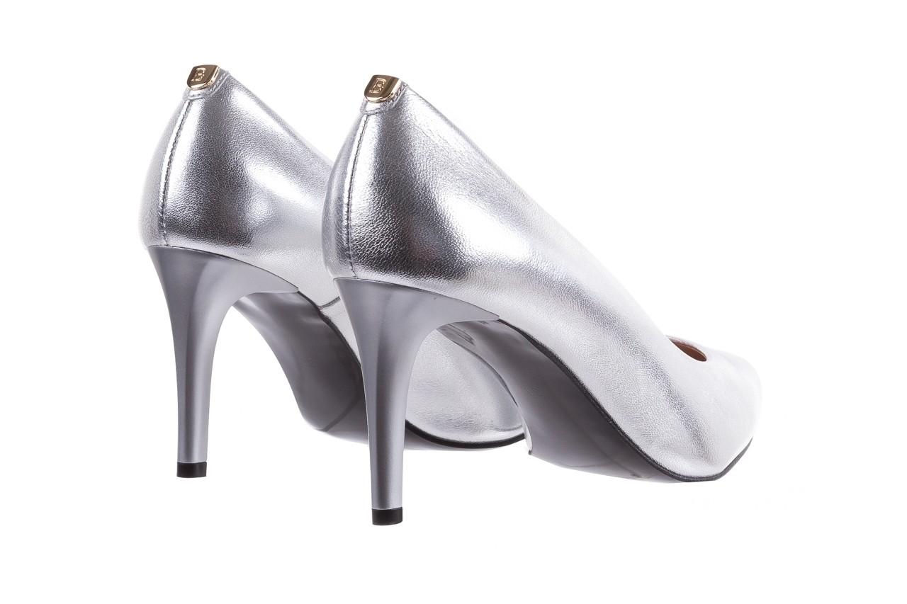 Czółenka bayla-056 1816-1103 srebrny 20, skóra naturalna  - szpilki - buty damskie - kobieta 11