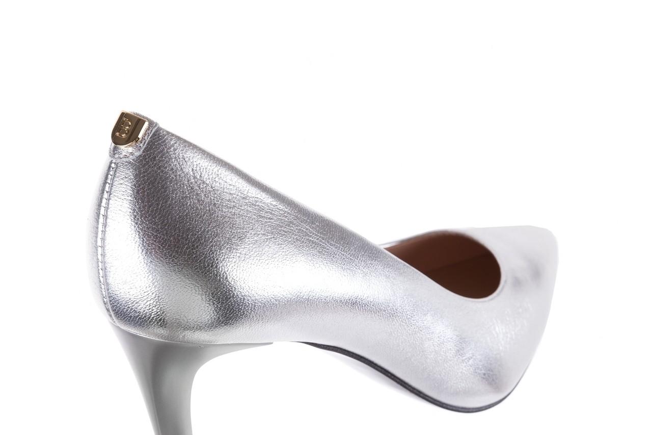 Czółenka bayla-056 1816-1103 srebrny 20, skóra naturalna  - szpilki - buty damskie - kobieta 13