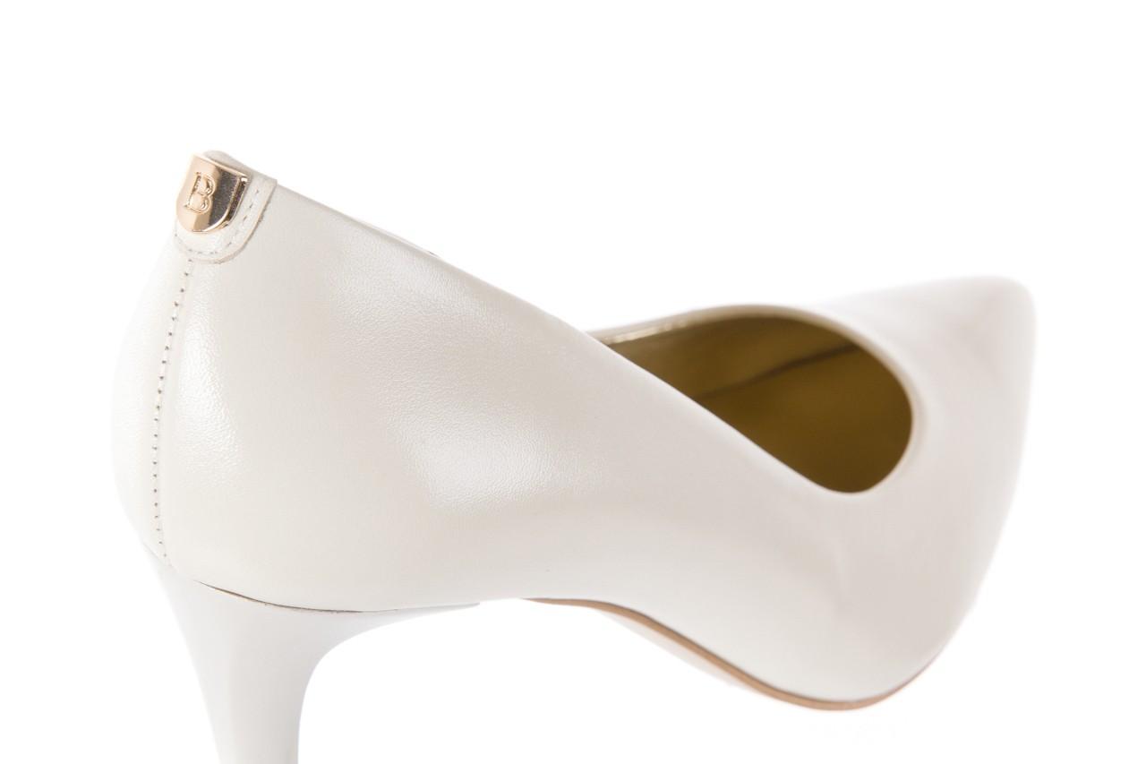 Czółenka bayla-056 1816-779 cream, biały, skóra naturalna  - 10% - halloween do -30% 12