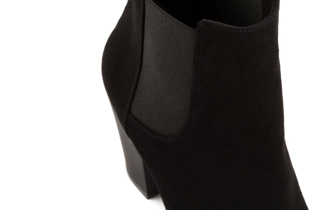 Botki bayla-056 2004-21 czarny, skóra naturalna - sztyblety - dla niej  - sale 11