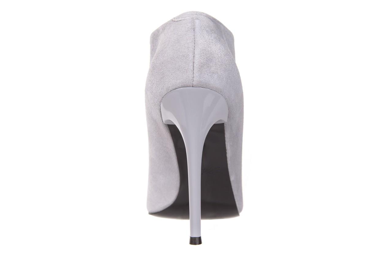 Botki bayla-056 2074-678 szary, skóra naturalna  - na szpilce - botki - buty damskie - kobieta 13