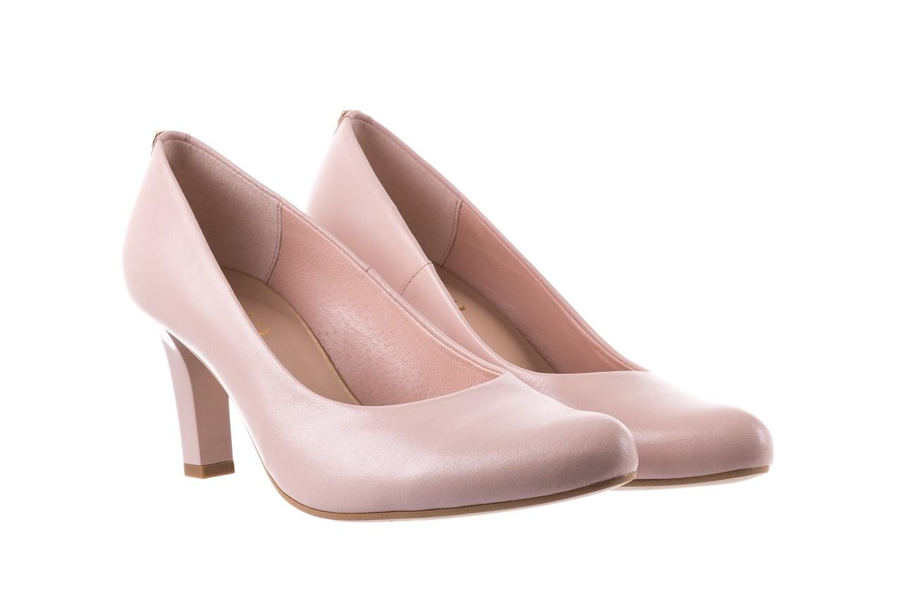 Czółenka bayla-056 5051-1104 róż lico 19, skóra naturalna - skórzane - szpilki - buty damskie - kobieta 8