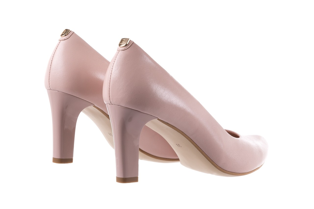 Czółenka bayla-056 5051-1104 róż lico 19, skóra naturalna - skórzane - szpilki - buty damskie - kobieta 11