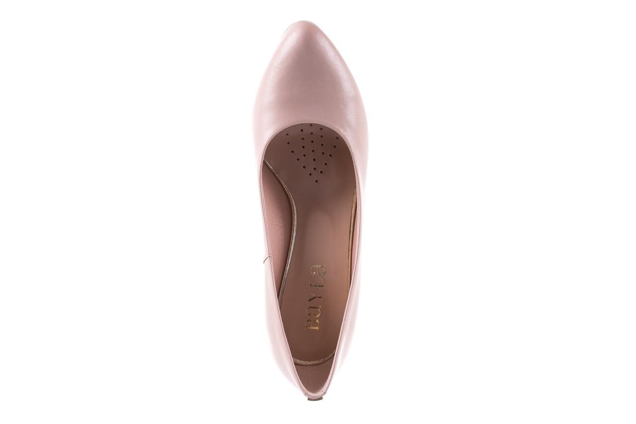 Czółenka bayla-056 5051-1104 róż lico 19, skóra naturalna - skórzane - szpilki - buty damskie - kobieta 12