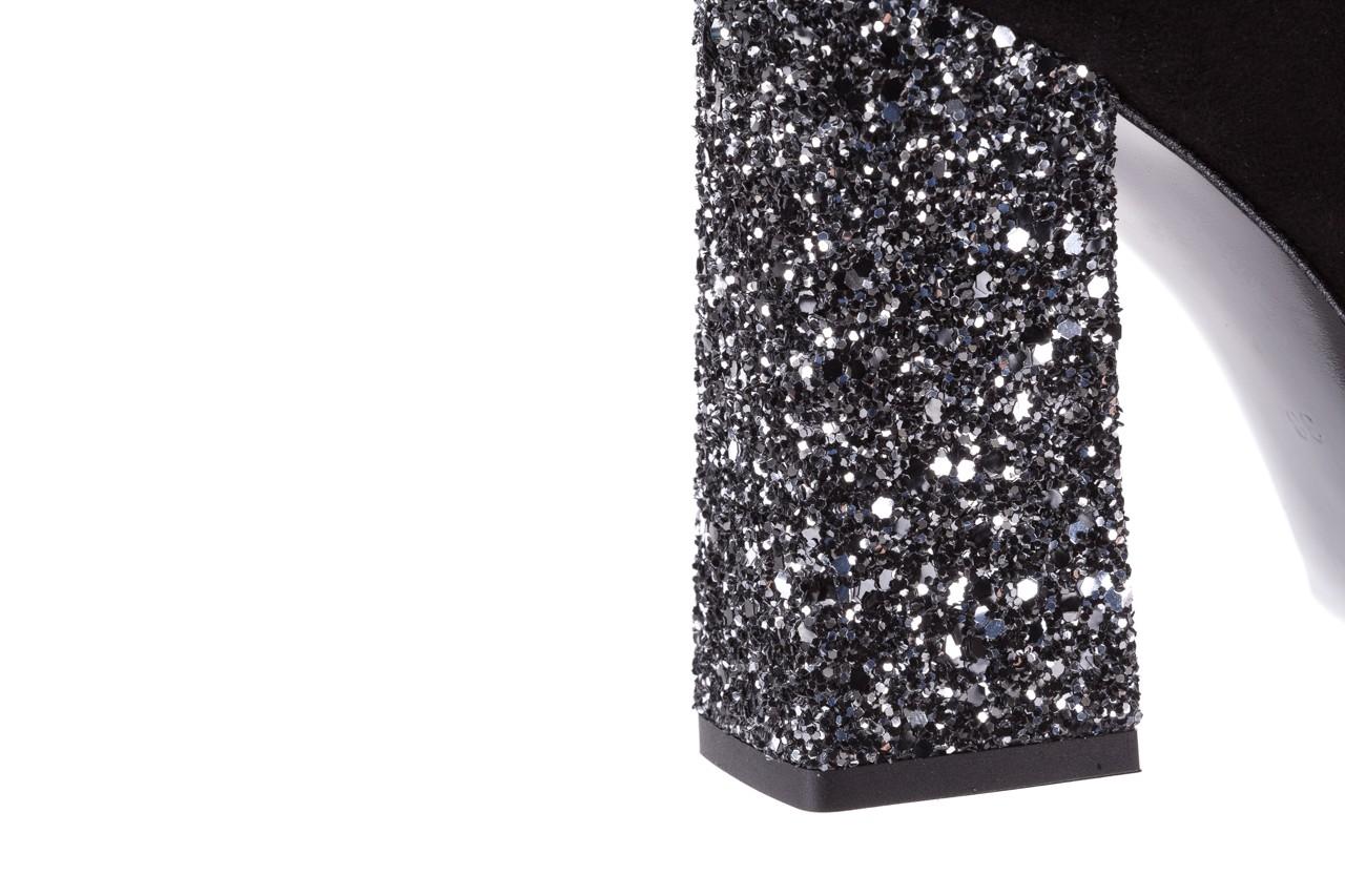 Czółenka bayla-056 5065-21 j czarny glitter 056348, skóra naturalna  - bayla - nasze marki 15