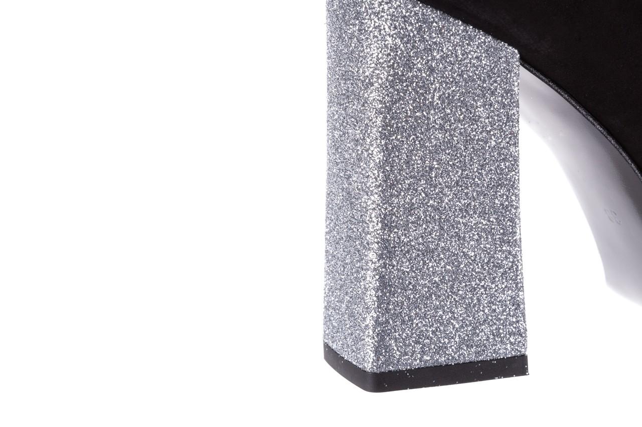 Czółenka bayla-056 5065-21 c czarny srebrny 056347, skóra naturalna  - bayla - nasze marki 15
