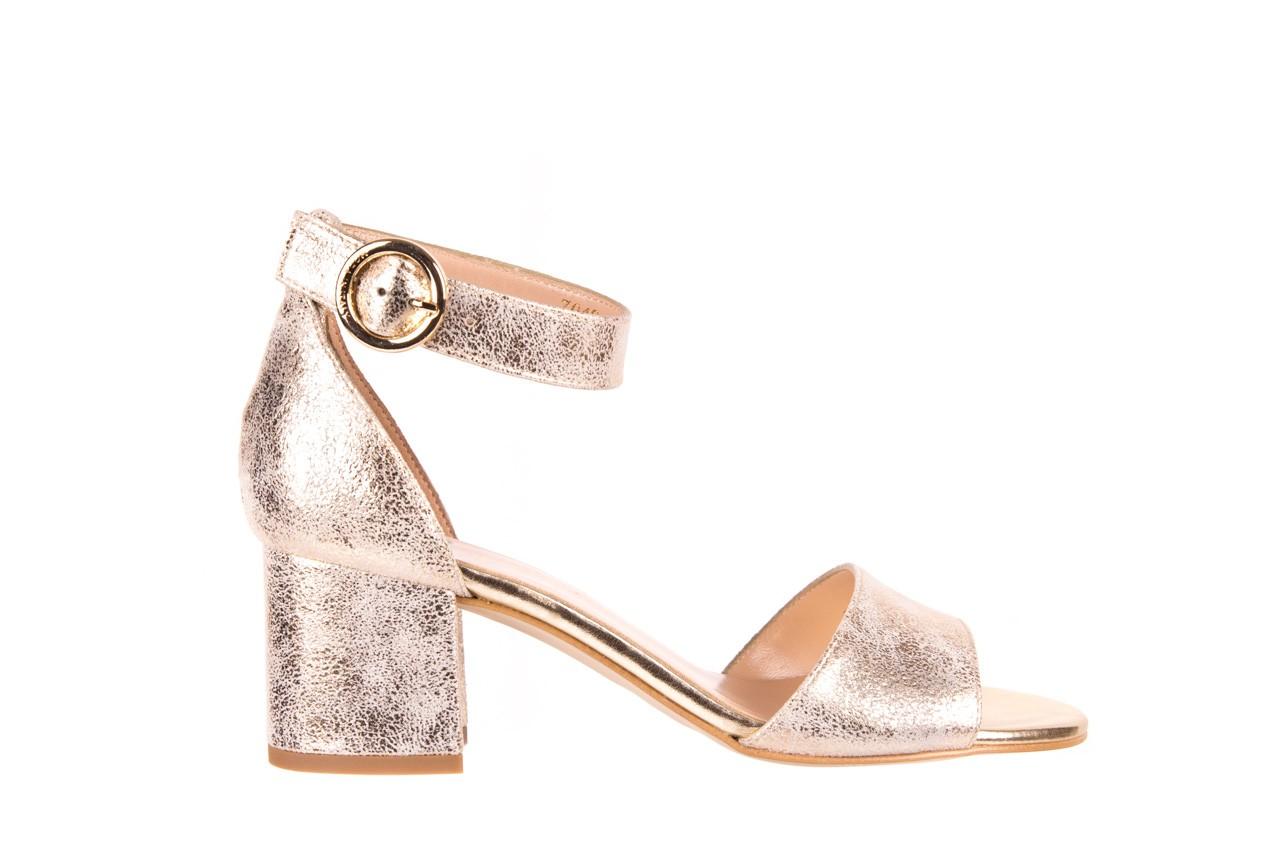 Sandały bayla-056 7049-1067 złote sandały, skóra naturalna  - bayla - nasze marki 6