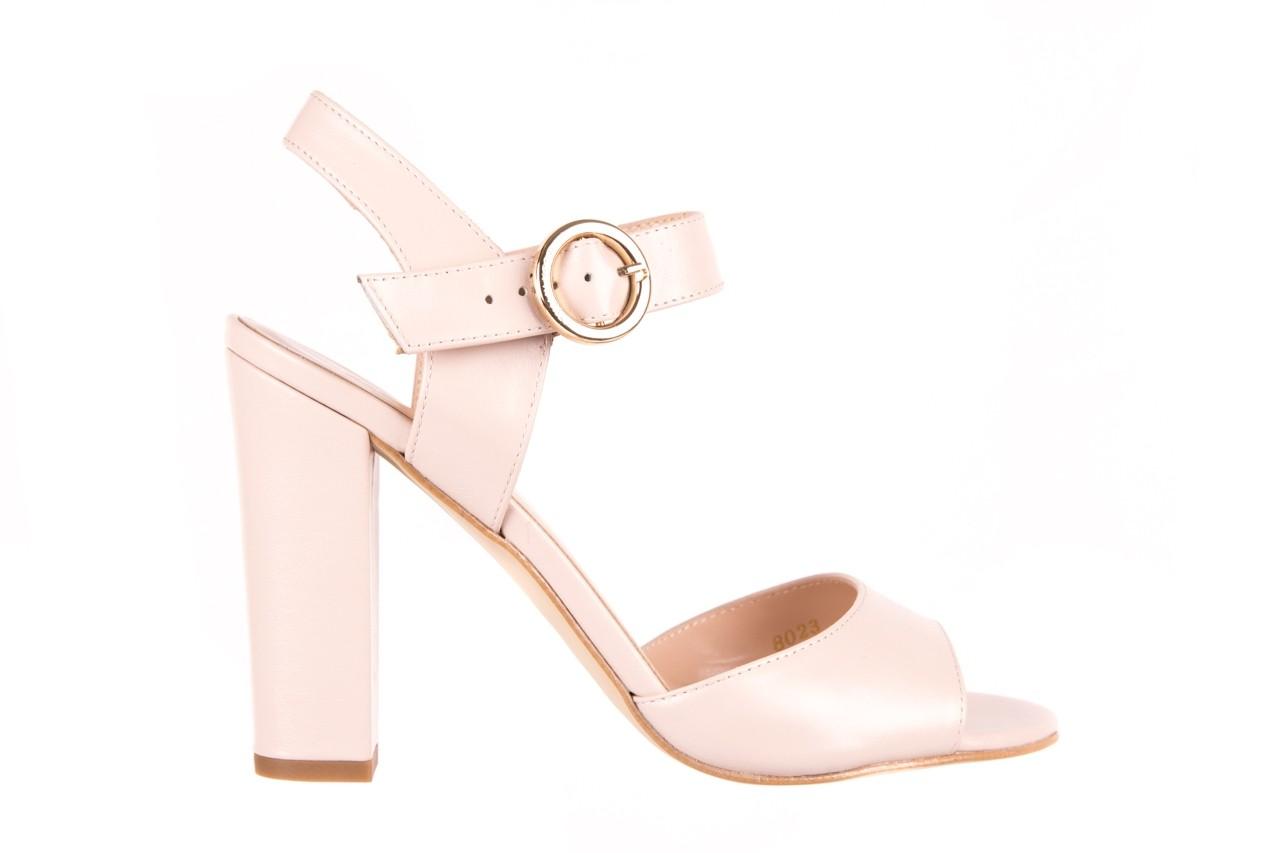 Sandały bayla-056 8023-203 beżowe sandały 19 - skórzane - sandały - buty damskie - kobieta 6