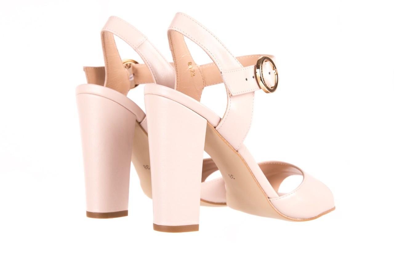 Sandały bayla-056 8023-203 beżowe sandały 19 - skórzane - sandały - buty damskie - kobieta 9