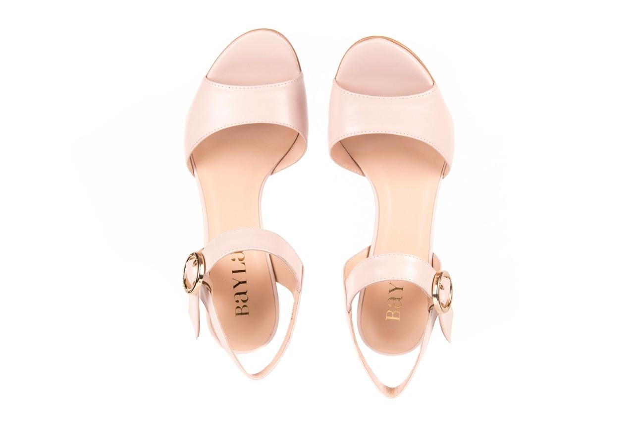 Sandały bayla-056 8023-203 beżowe sandały 19 - na obcasie - sandały - buty damskie - kobieta 10