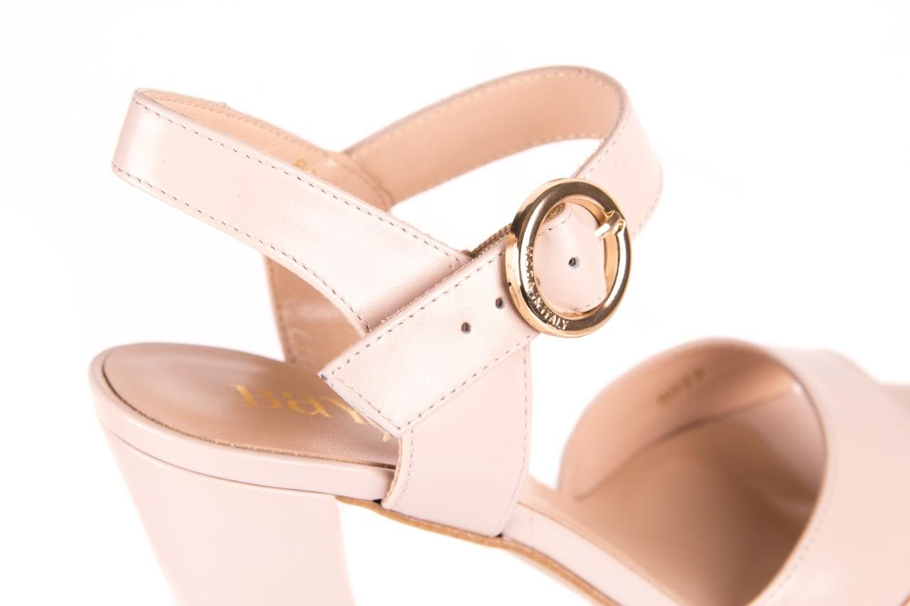 Sandały bayla-056 8023-203 beżowe sandały 19 - skórzane - sandały - buty damskie - kobieta 11