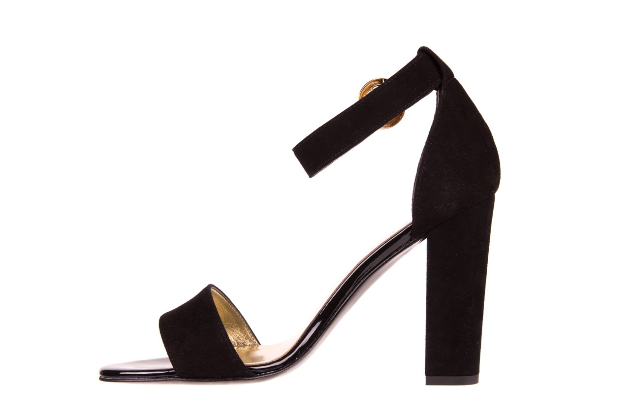 Sandały bayla-056 8024-21 czarne sandały, skóra naturalna  - bayla - nasze marki 8