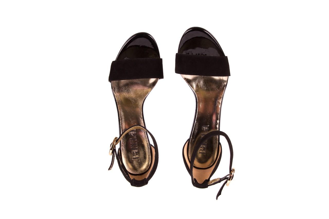 Sandały bayla-056 8024-21 czarne sandały, skóra naturalna  - bayla - nasze marki 10