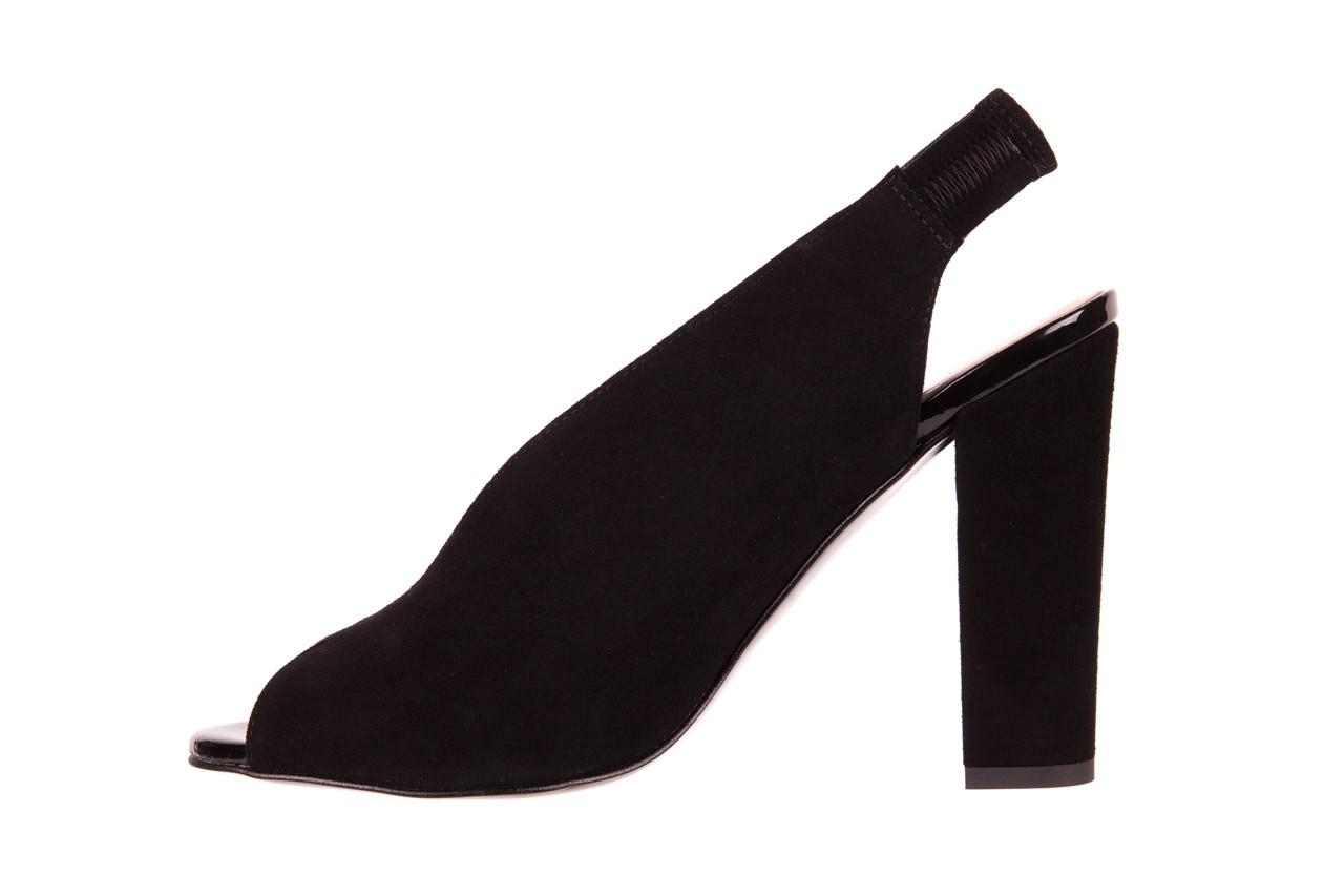 Sandały bayla-056 8043-21 czarne sandały, skóra naturalna  - bayla - nasze marki 8