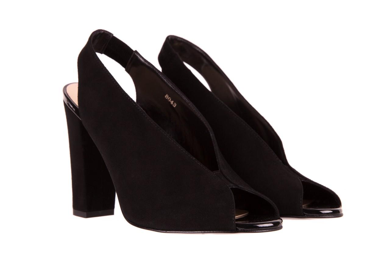 Sandały bayla-056 8043-21 czarne sandały, skóra naturalna  - bayla - nasze marki 7