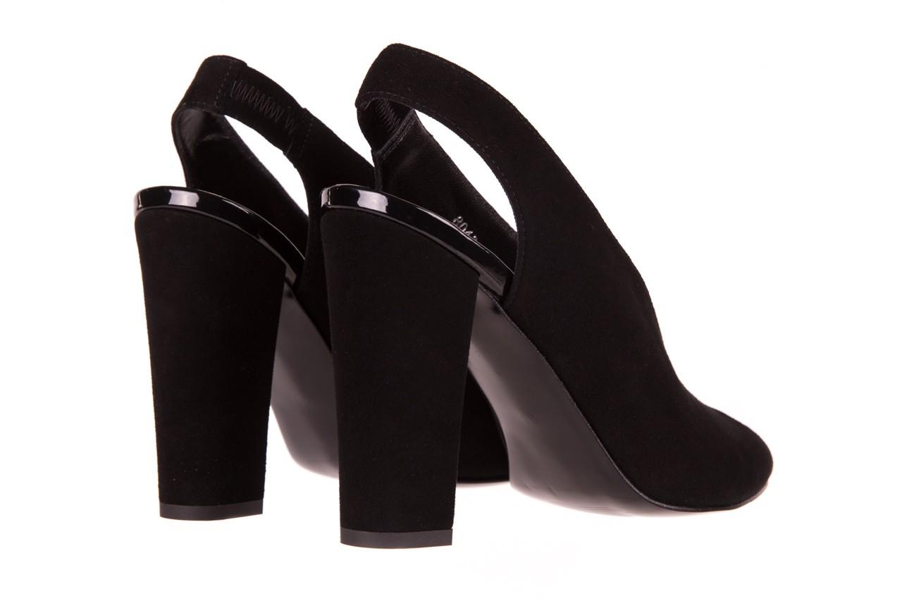 Sandały bayla-056 8043-21 czarne sandały, skóra naturalna  - bayla - nasze marki 9