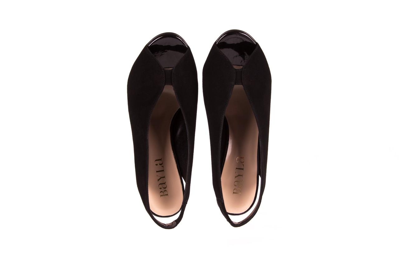 Sandały bayla-056 8043-21 czarne sandały, skóra naturalna  - bayla - nasze marki 10
