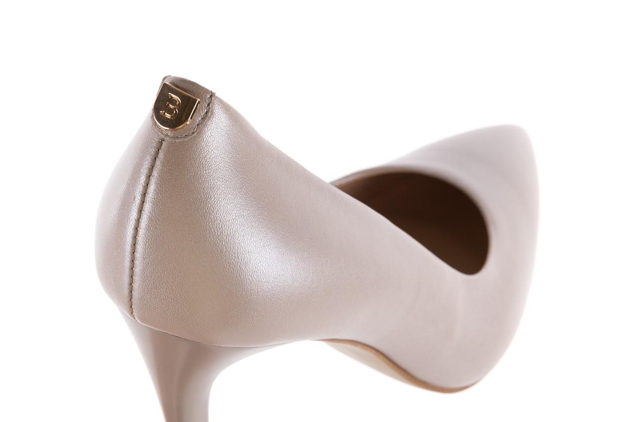 Czółenka bayla-056 9035-1422 szampańskie perłowe czółenka, skóra naturalna  - kolekcja ślubna - trendy - kobieta 11
