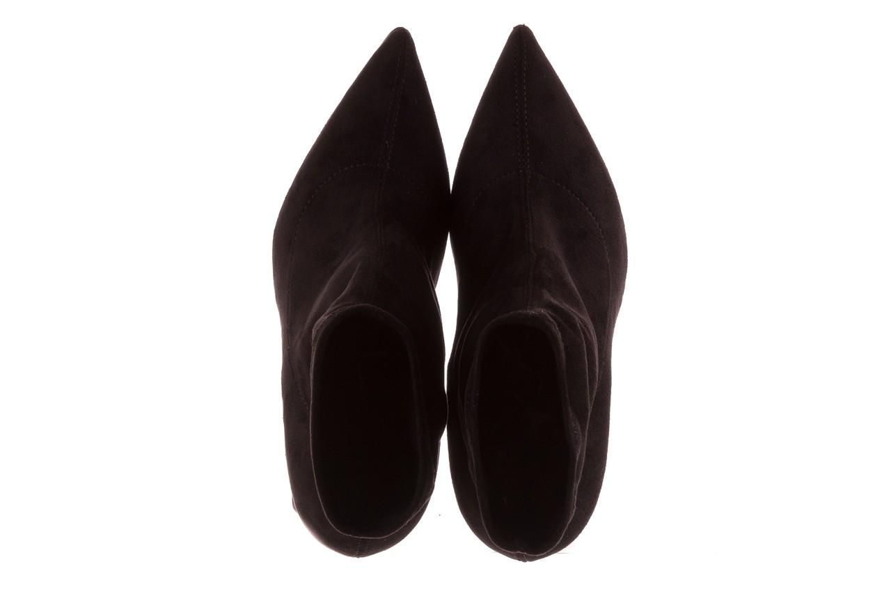 Botki bayla-056 9046-730 czarne botki, materiał - bayla - nasze marki 11