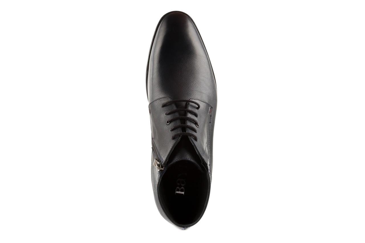 Trzewiki bayla-057 3197 granat, skóra naturalna - wizytowe - trzewiki - buty męskie - mężczyzna 10